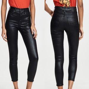Levis Mile High Super Skinny Snake Print Jeans 26